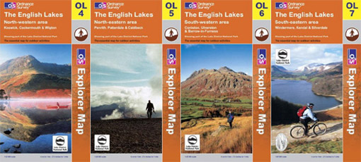 Cumbria Outdoor Leisure Maps